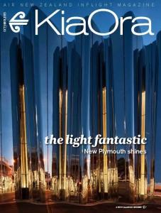 KIA ORA inflight magazine