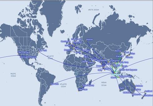 Singapore Routes