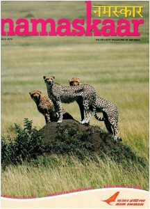 Magazine Inflight Namaskaar - Air India