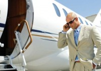 airplane-private-jet-businessman-phone