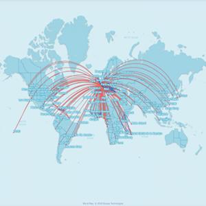 Publicité Inflight Air France - IMM International