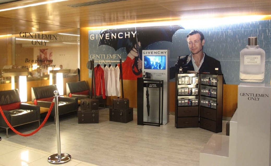 Givenchy Air France lounge corner